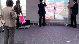 新千歳空港 ポルトムホールにて内覧会を開催しました